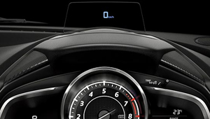 All-New Mazda2 Active Driving Display