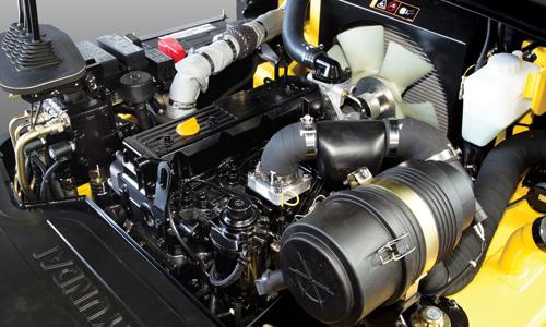 Large engine hood