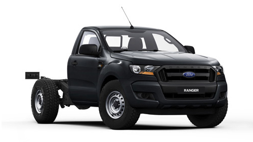 2016 MY17 Ford Ranger PX MkII 4x2 XL Single Cab Chassis 2.2L Utility