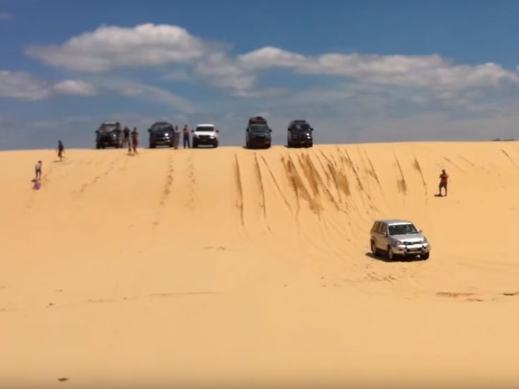 Stockton Beach 4x4 Dunes NSW