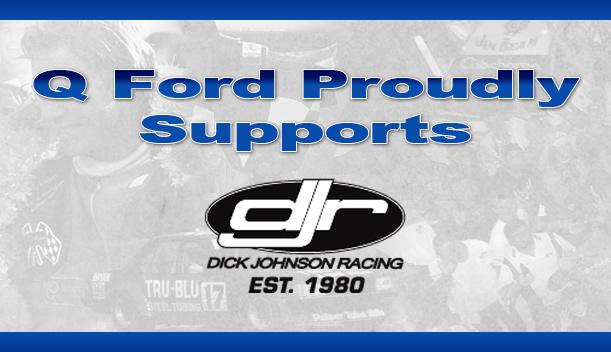 Q Ford Brisbane proudly supports the Dick Johnson Racing Team