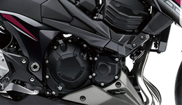 2016 Z800 ABS 806cc Liquid-cooled, 4-stroke In-line Four tuned for strong mid-range torque