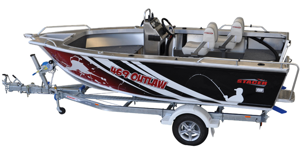 New Stacer 469 Outlaw Centre Console