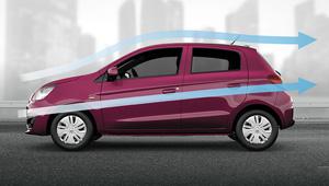Mirage Class Leading Fuel Economy