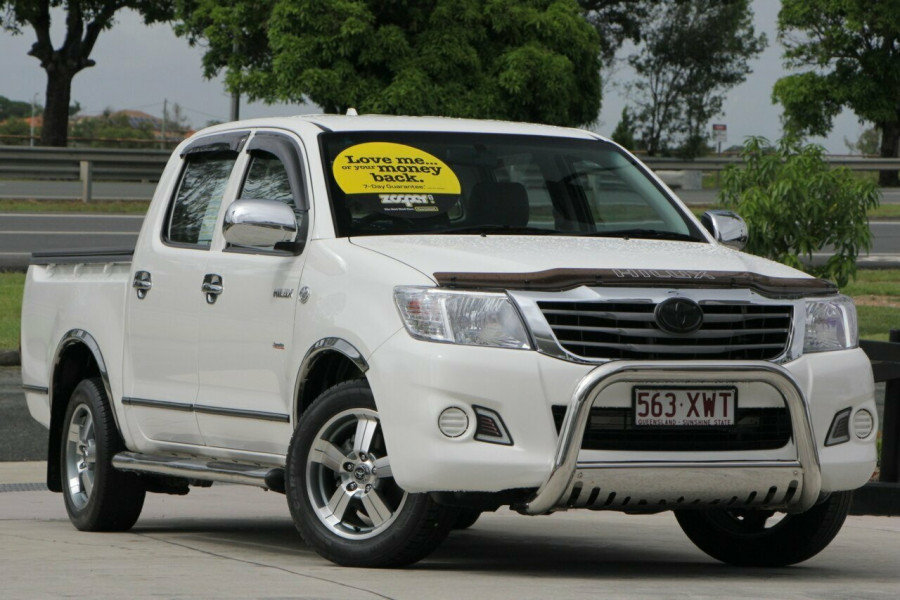 2013 MY12 Toyota Hilux TGN16R MY12 Workmate Double Cab Utility
