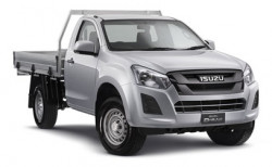New Isuzu UTE 4x4 SX Single Cab Chassis