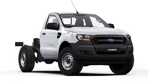 2016 MY17 Ford Ranger PX MkII 4x4 XL PLUS Single Cab Chassis 3.2L Cab chassis