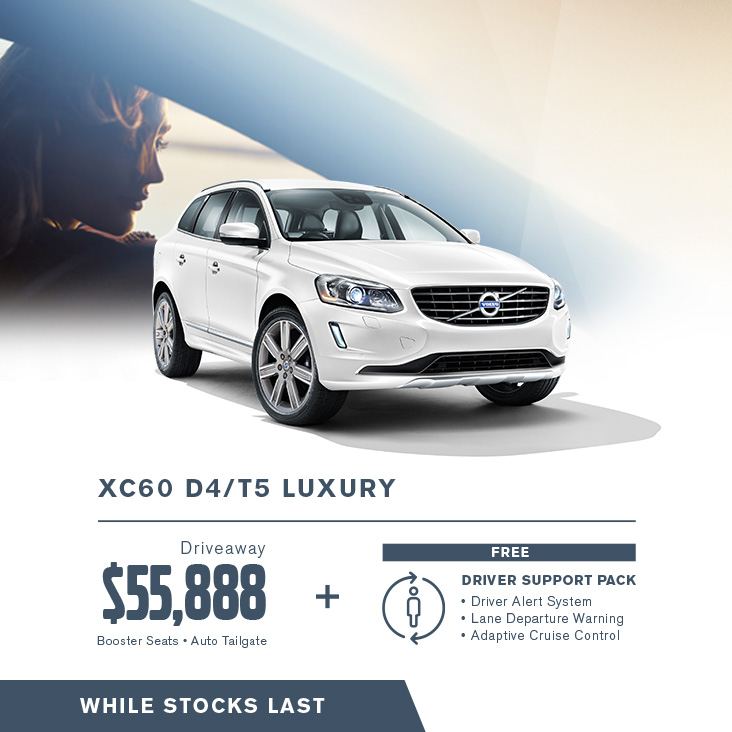 The mid-sized XC60 SUV