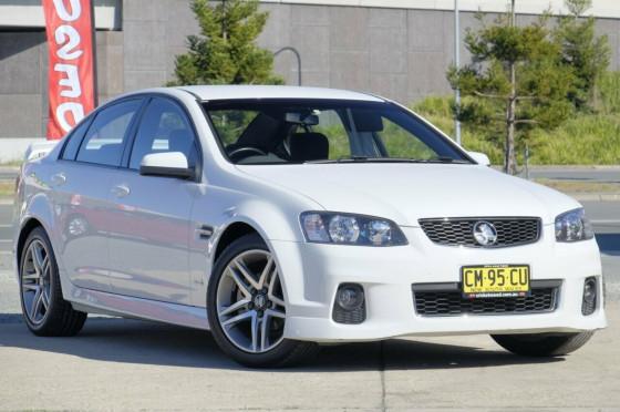 2012 MY Holden Commodore VE II  SV6 Sedan
