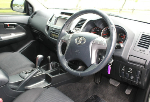 2014 Toyota HiLux KUN26R MY14 SR5 DUAL CAB Utility