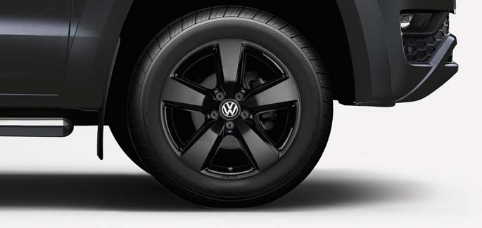 Black Aragonit alloy wheel