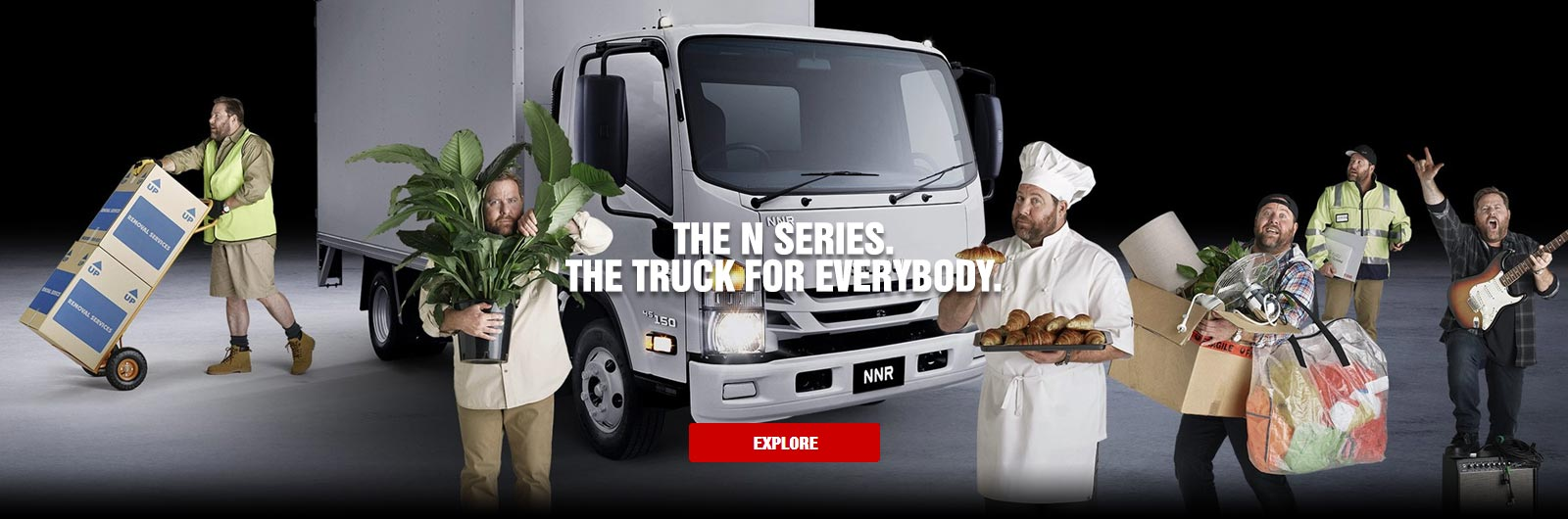 THE TRUCK FOR EVERYBODY.