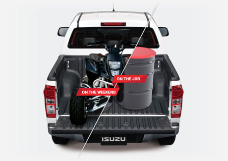 D-MAX TOWING AND CARRYING CAPACITY