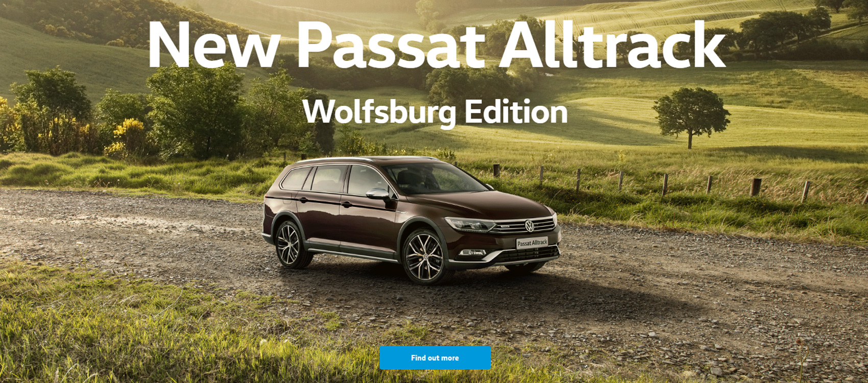 New Volkswagen Passat Alltrack Wolfsburg Edition available now from NMG VW