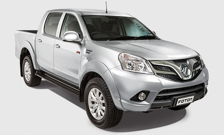 2WD manual transmission, double cab