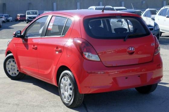 2012 MY Hyundai I20 PB  Active Hatchback