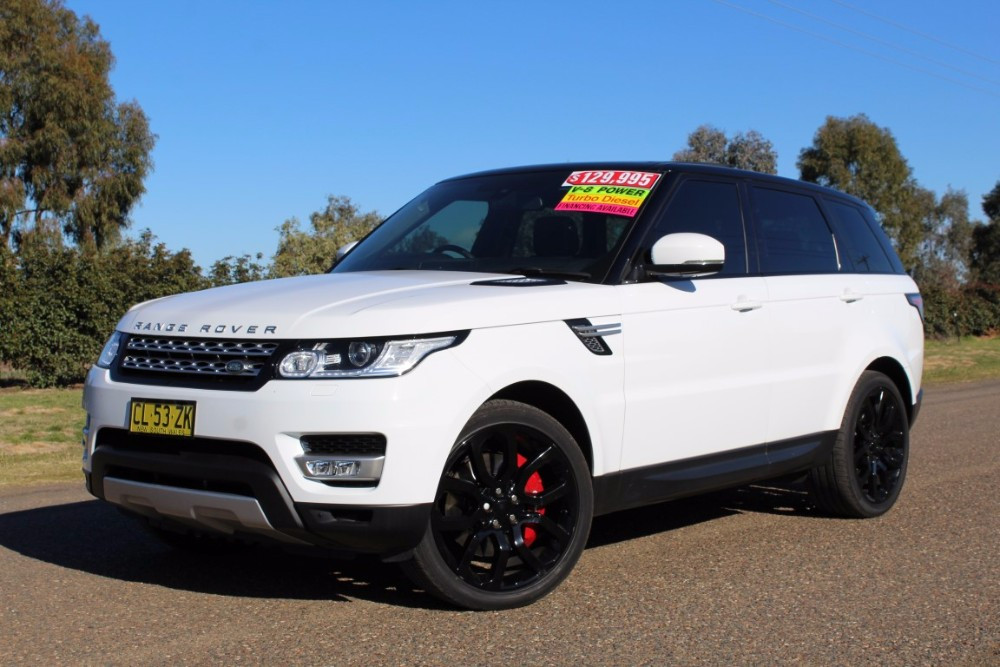 2014 MY14.5 Land Rover Range Rover Sport L494 HSE Wagon
