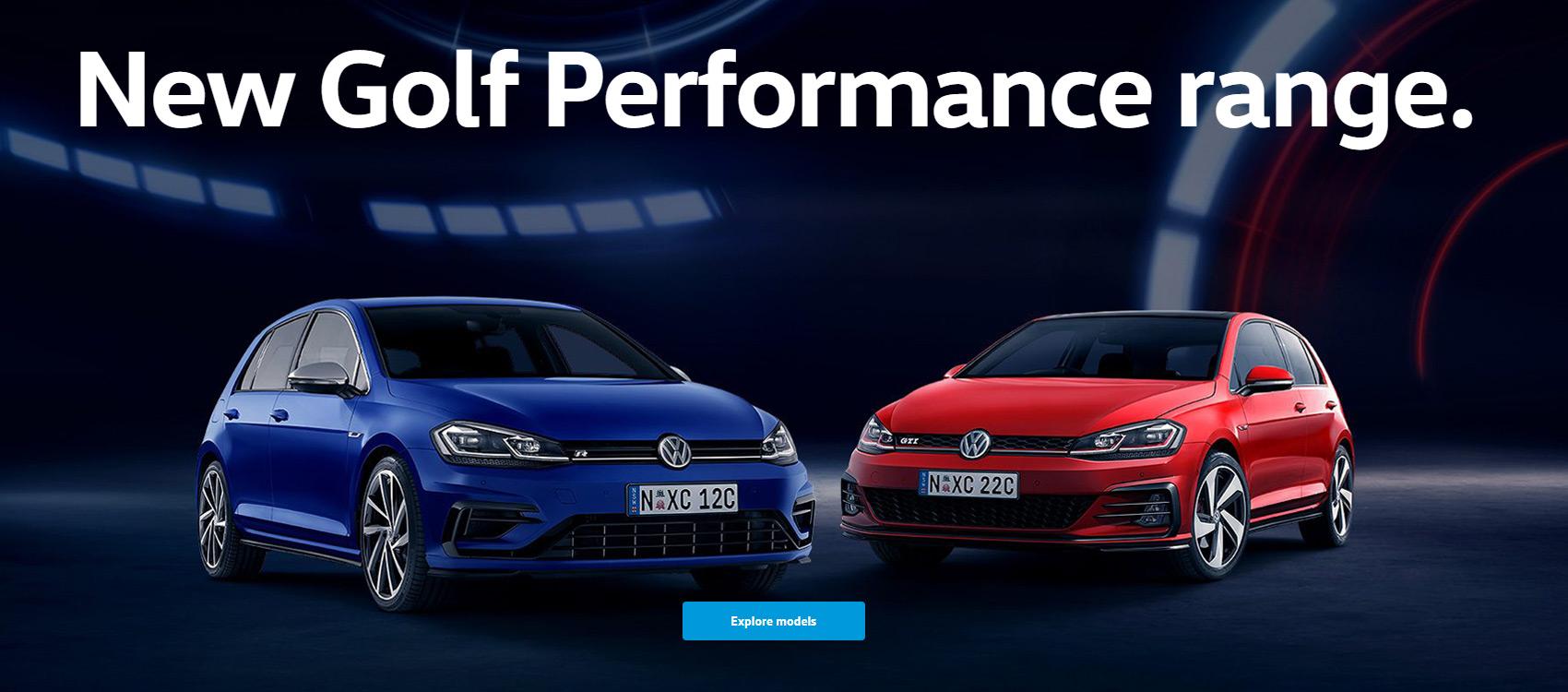New Golf Performance Range