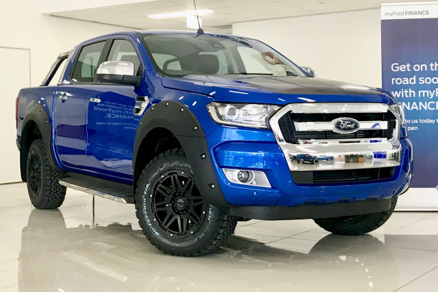 2017 ford ranger px mkii 4x4 xlt black edition double cab pickup 3 2l ute for sale moreton bay. Black Bedroom Furniture Sets. Home Design Ideas