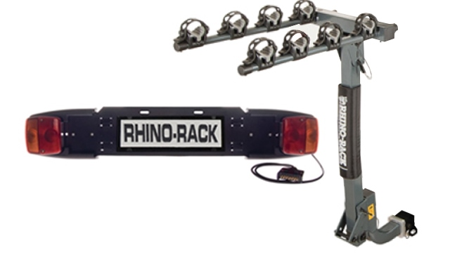 Bike Carrier - Hitch Receiver and No. plate frame - Rhino-Rack