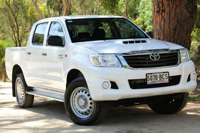 2014 Toyota Hilux KUN26R MY14 SR Double Cab Utility
