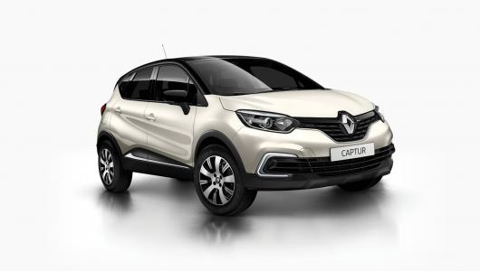 Renault CAPTUR Zen Auto - 2017 Plate