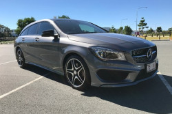 Mercedes-Benz Cla200 Brake X117 Shooting