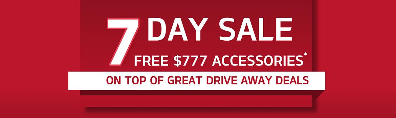 Kia 7 Day Sale