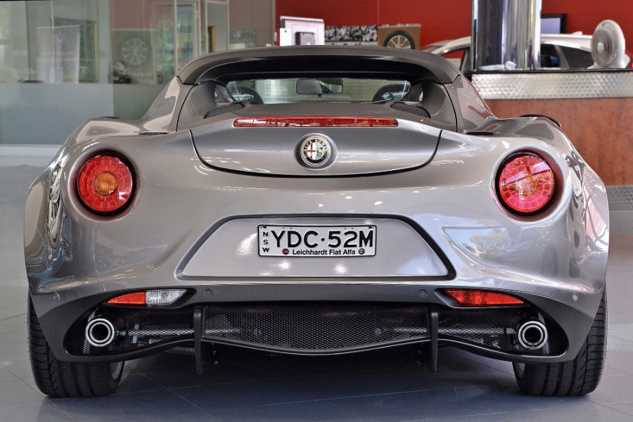 2015 MY16 Alfa romeo 4c Coupe