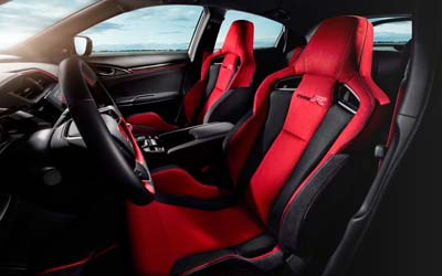 Civic Hatch Lightweight Racing Inspired Seats