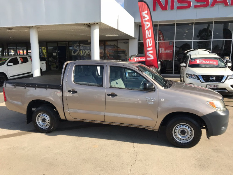 2007 Toyot HiLux TGN16R  WORKMATE Ute