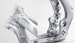 2017 KX450F Slimmer, Lighter Aluminium Perimeter Frame