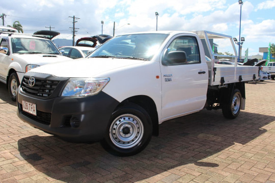 Toyota HiLux WORKMATE TGN16R MY12