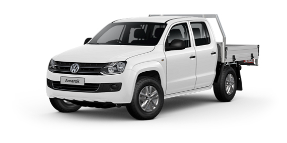 2017 MY16 Volkswagen Amarok 2H Dual Cab Chassis Core Utility crew cab