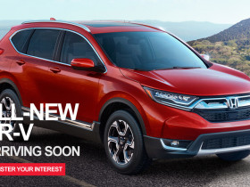 All new CR-V coming soon