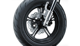Z125 Pro 12 inch Cast Wheels and Road Tyres