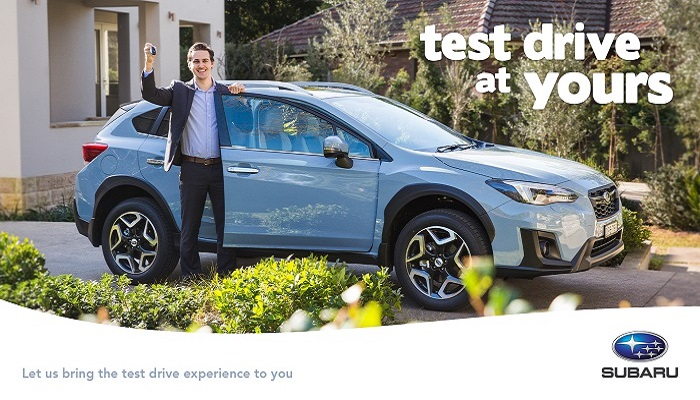 Test drive at your house