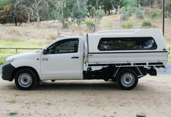 2011 MY12 Toyota Hilux KUN16R MY12 Workmate Cab chassis