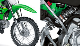 2017 KLX110 Capable Chassis