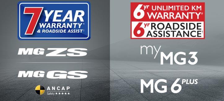 7yr Warranty and 6yr Unlimited KM Warranty