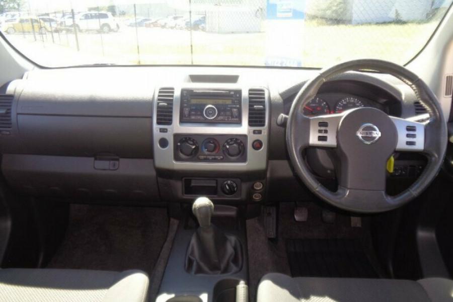 2011 Nissan Navara D40 MY11 RX Cab chassis