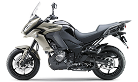 2016 Versys 1000 Sharp, Sporty Styling