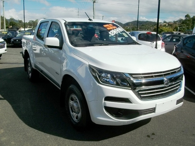 2017 Holden Colorado RG Turbo LS 4x4 dual cab