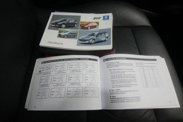 2006 Peugeot 307 MY06 Upgrade XSE HDI 2.0 Hatchback