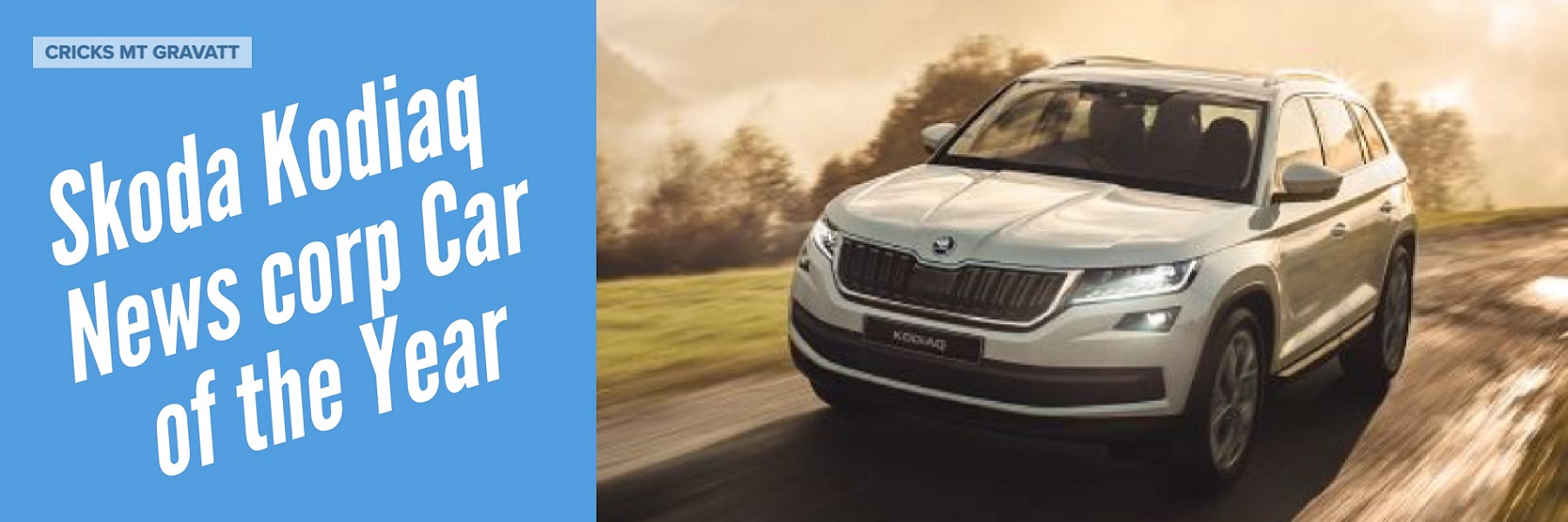 Skoda Kodiaq news corp car of the year