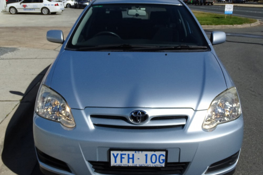 2005 Toyota Corolla ZZE122R 5Y Ascent Sport Hatchback