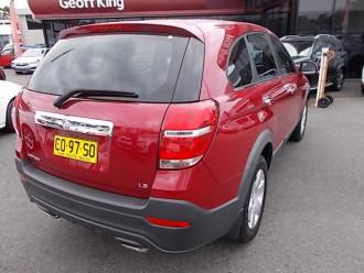 2014 Holden Cgii8lc26 CG 7 LS 2wd wagon