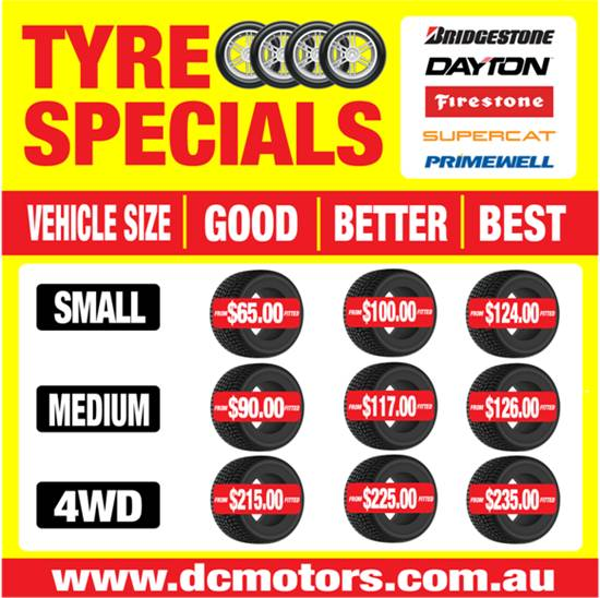 Tyre Offers