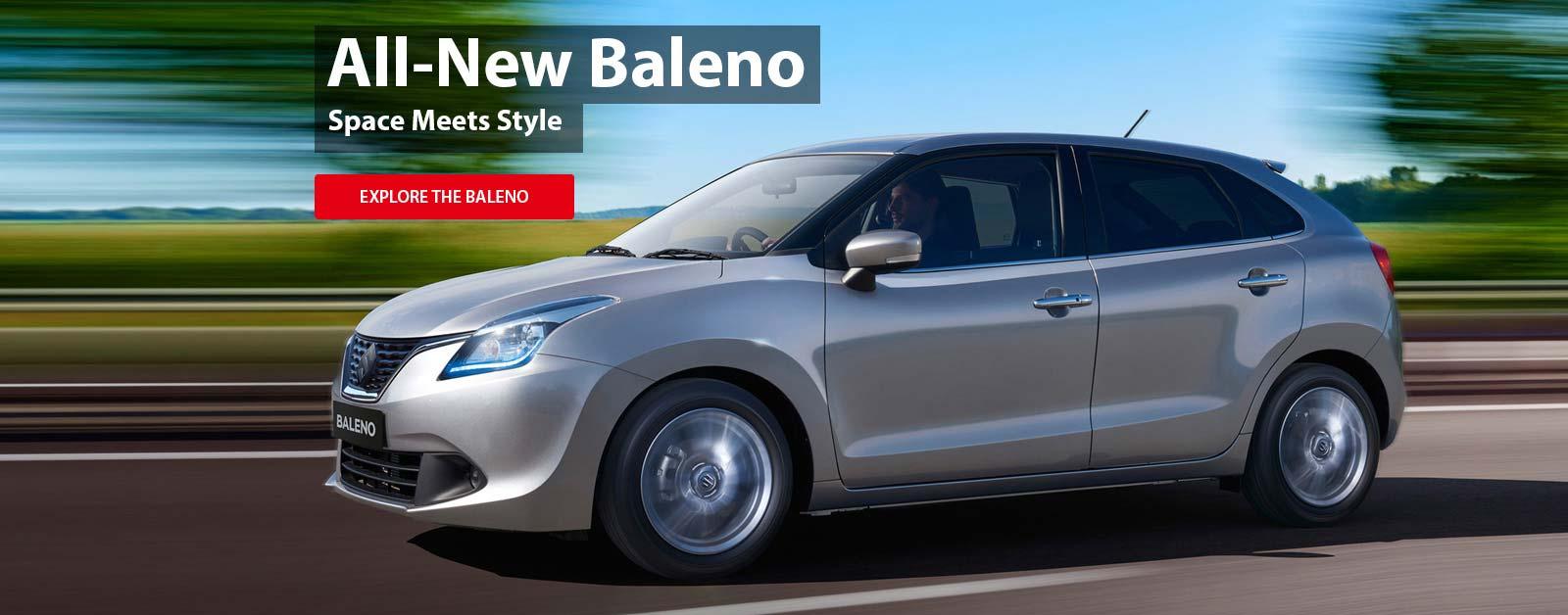The all new Baleno, space meets style at Nundah Suzuki, your number 1 Suzuki dealer in Brisbane.