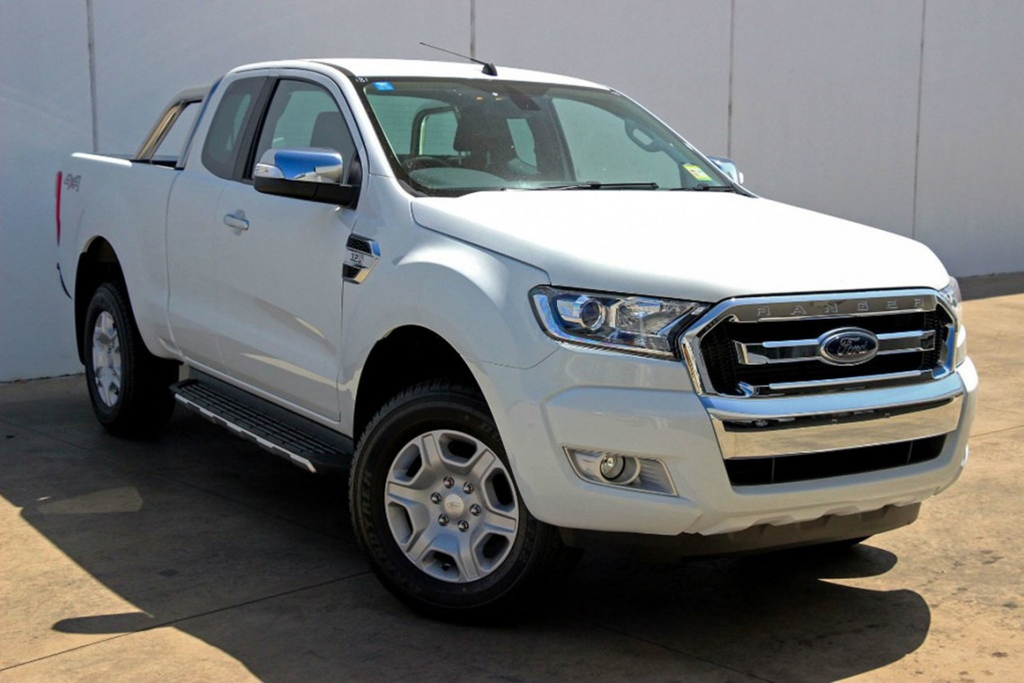 2016 MY Ford Ranger PX MkII 4x4 XLT Double Cab Pickup 3.2L Utility